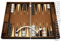 Backgammon blitz strategy
