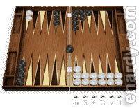 Backgammon priming game strategy